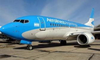 Aerolíneas Argentinas canceló todos sus vuelos del martes
