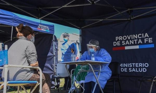 Miércoles con 55 casos de coronavirus confirmados en la provincia de Santa Fe